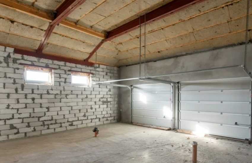Garage Ceiling Rafters Nels, How To Insulate A Garage Roof Rafters